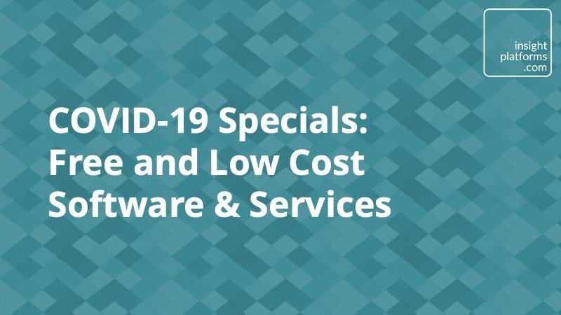 COVID-19 Specials - Insight Platforms