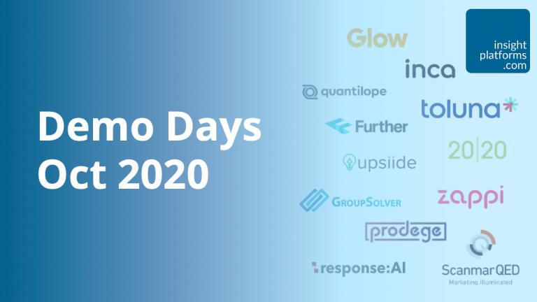 Insight Platforms Demo Days Oct 2020 Featured Image