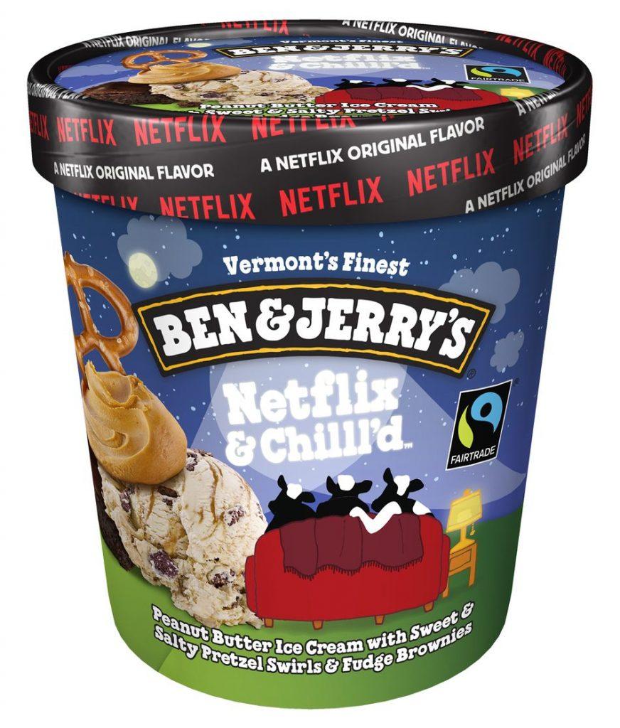 Ben & Jerry's Netflix & Chilll'd