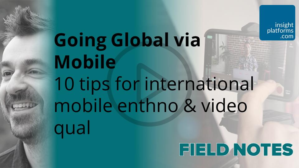 Going Global via Mobile