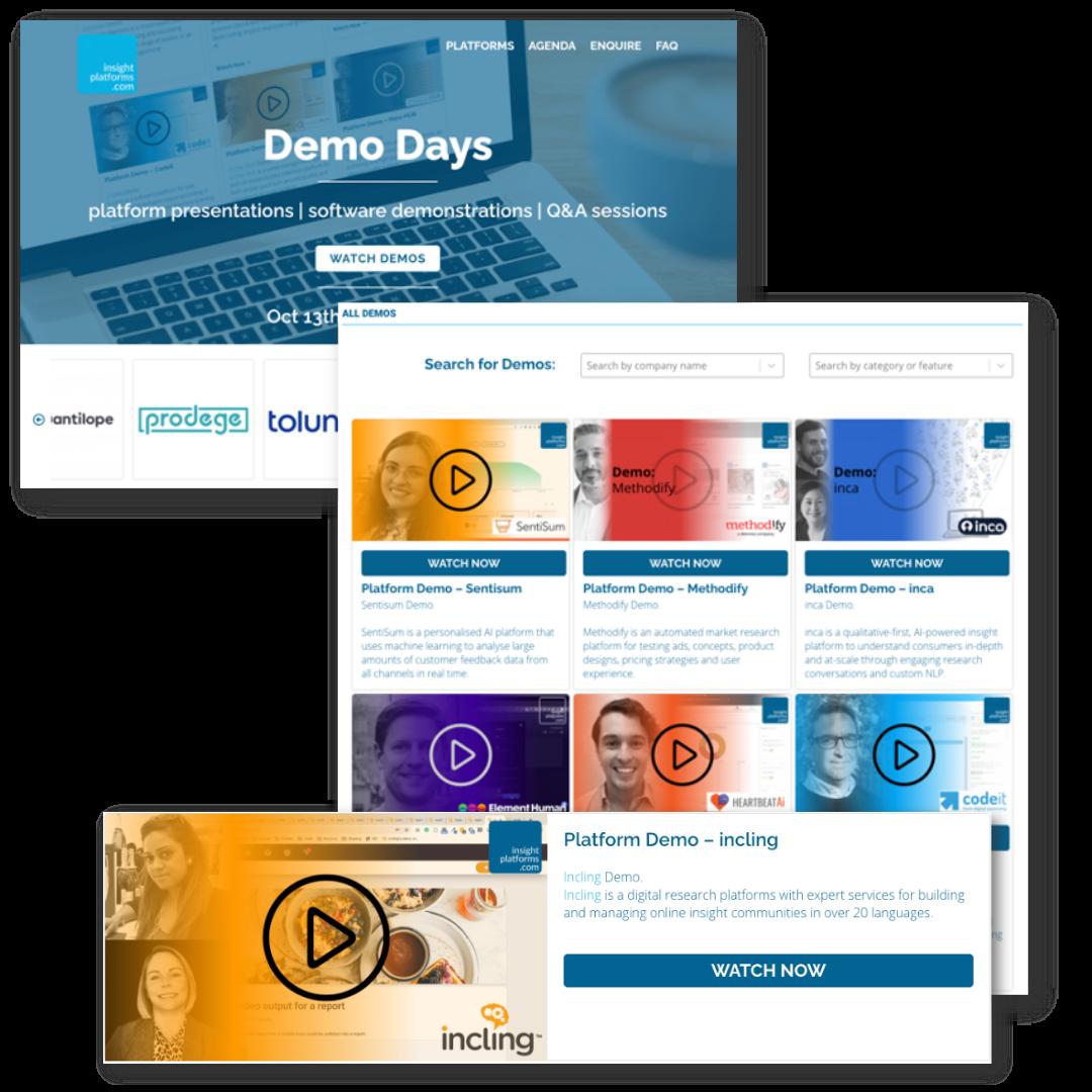 Insight Platforms Demo Opportunities