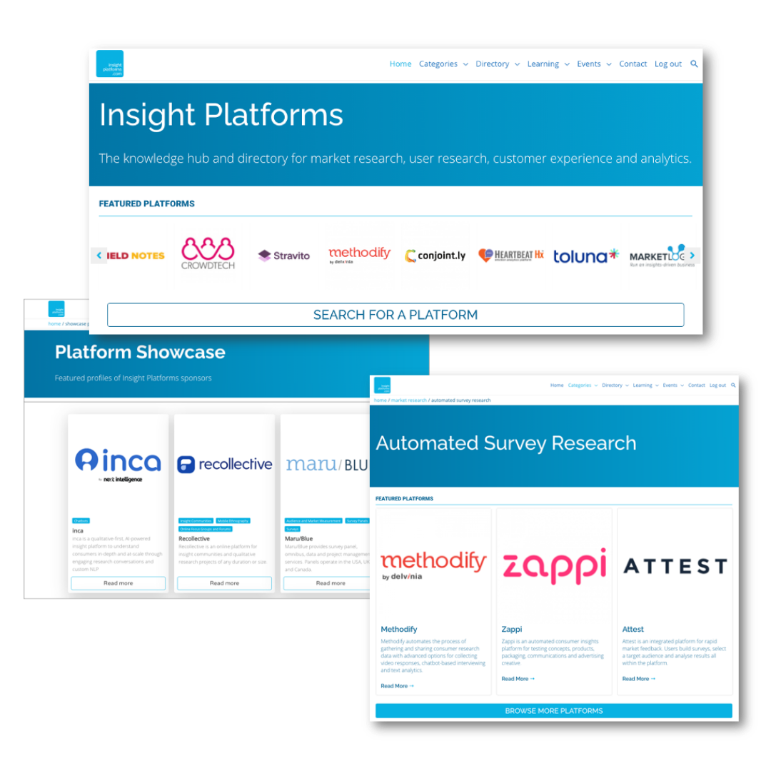 Insight Platforms Featured Listings Profile Opportunities