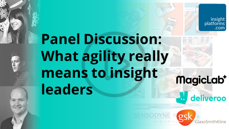 Panel What agility really means to insight leaders