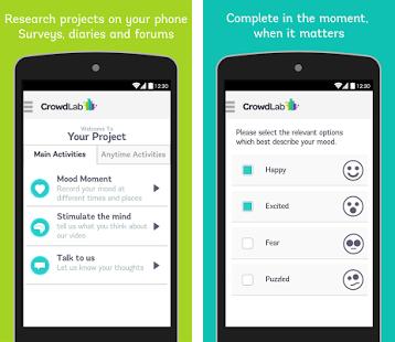 CrowdLab Screenshot