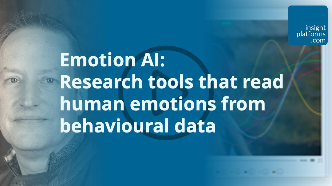 Emotion AI Webinar - Featured Image - Insight Platforms