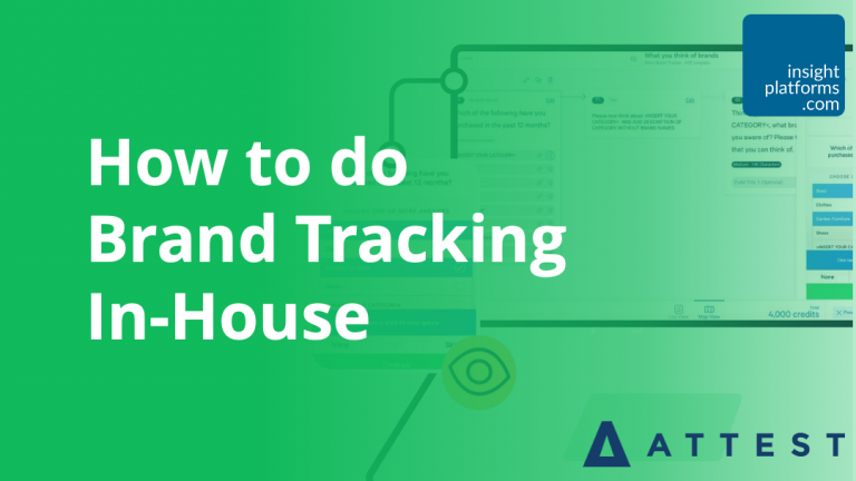 How to do Brand Tracking In-House - Featured Image - Insight Platforms