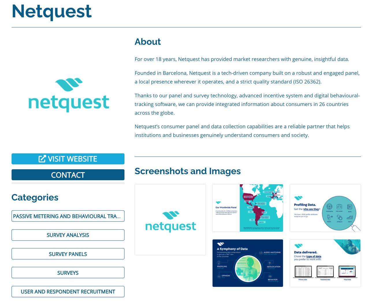 Startup Directory Listing - Insight Platforms