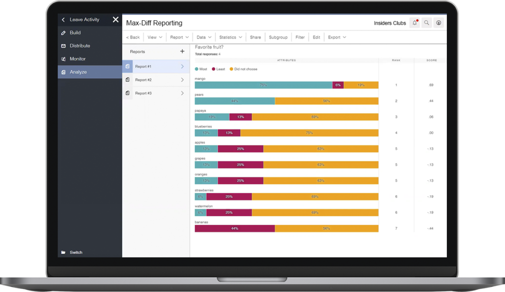 Alida Screenshot - Insight Platforms