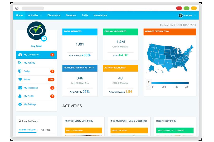 My-Take Screenshot - Insight Platforms