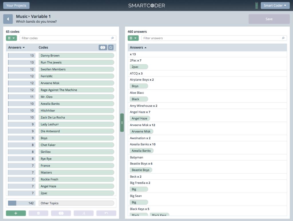 Smartcoder Screenshot - Insight Platforms