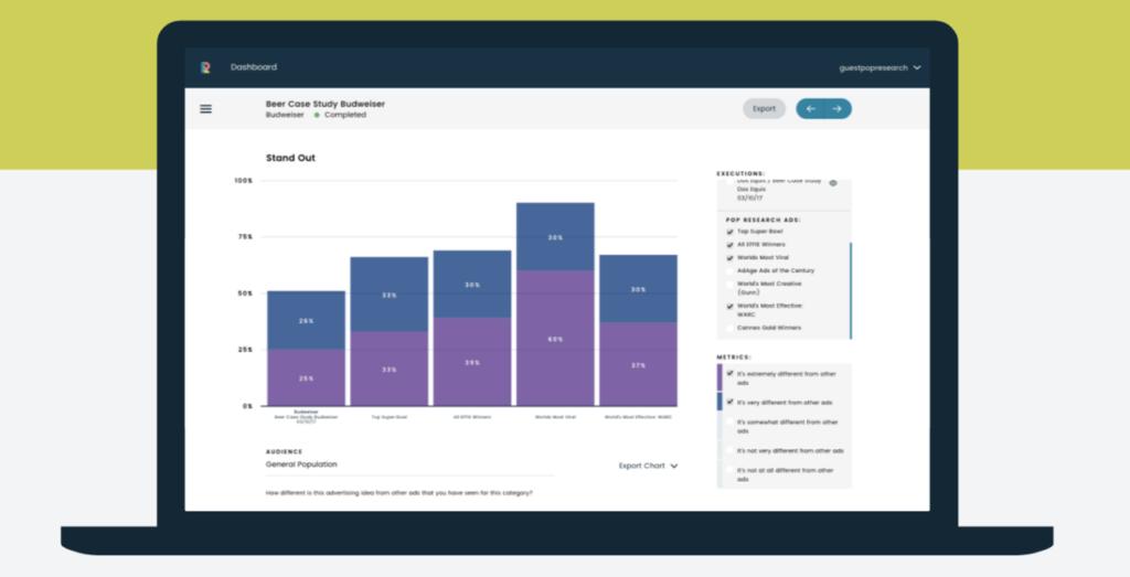 Pop Research Screenshot - Insight Platforms