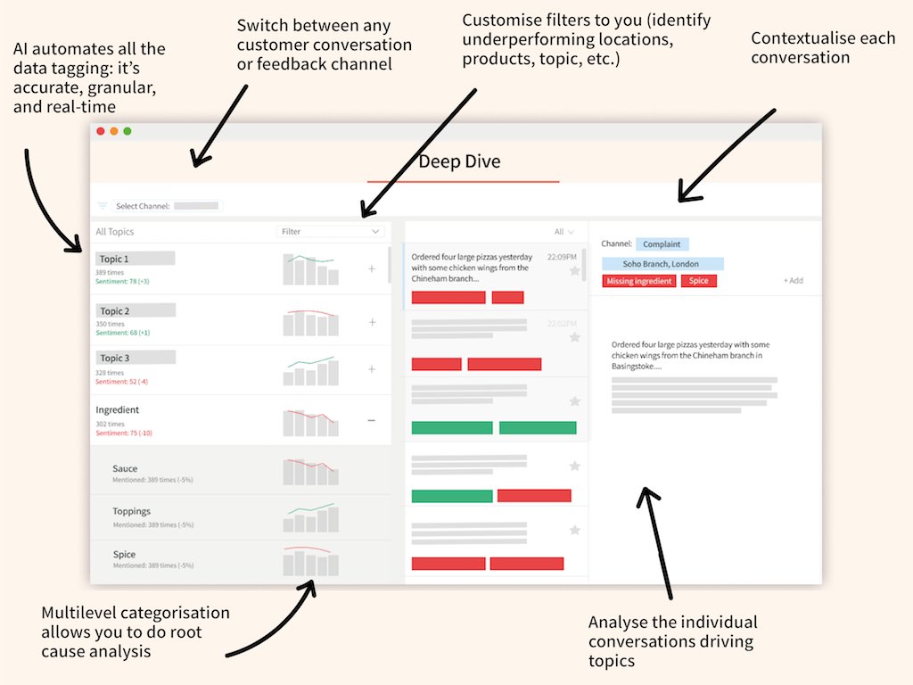 SentiSum Screenshot - Insight Platforms