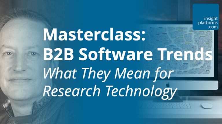 B2B Software Trends Masterclass - Featured Image - Insight Platforms