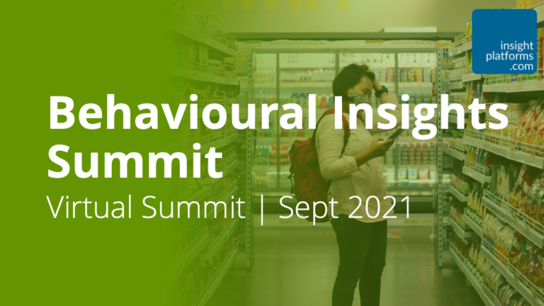 Behavioural Insights Summit - Featured Image - Insight Platforms