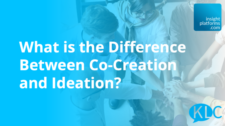 KLC - Co-Creation and Ideation - Featured Image
