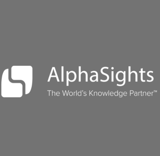 AlphaSights Logo Square Insights Platform