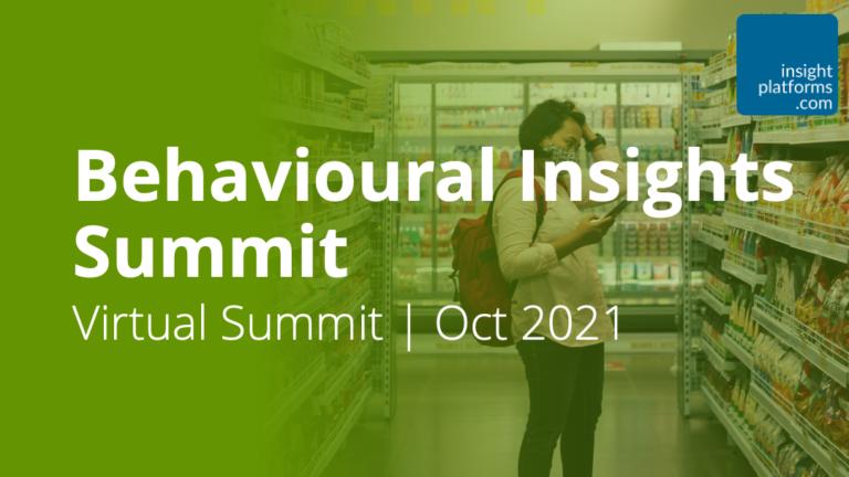 Behavioural Insights Summit - Featured Image 2 - Insight Platforms
