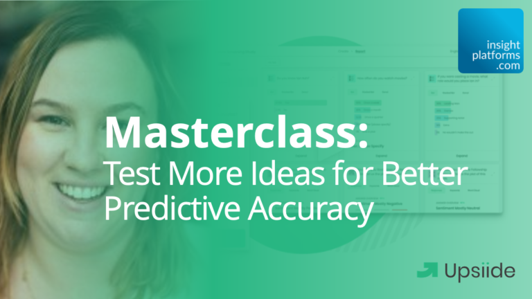 Featured Image Upsiide Webinar Test More Ideas for Better Predictive Accuracy 2